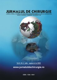 Full text PDF (2.9 MB) - Jurnalul de Chirurgie