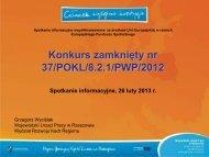 Realizacja staży - wup rzeszow.pl - Wojewódzki Urząd Pracy w ...