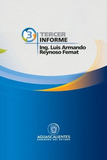 391 TERCER INFORME - Gobierno de Aguascalientes