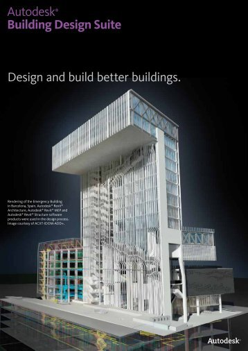 Design and build better buildings. Autodesk® Building ... - Cadspec