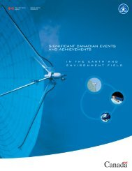 significant canadian events and achievements - Agence spatiale ...