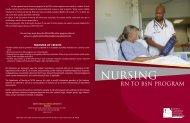 Nursing RN to BSN Program - Halifax Community College