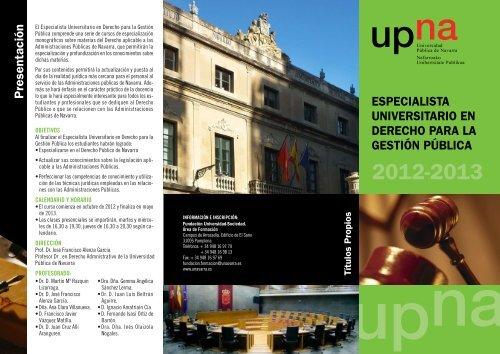 Folleto en pdf - Universidad Pública de Navarra
