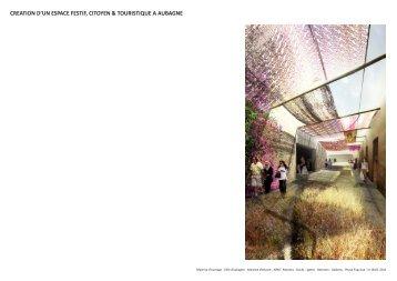 creation d'un espace festif, citoyen & touristique a aubagne