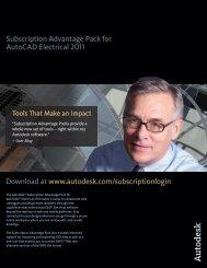 Subscription Advantage Pack for AutoCAD Electrical 2011 - Autodesk