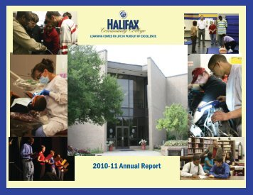 HCC Annual Report 2010-2011 - Halifax Community College