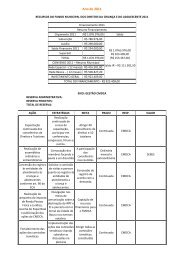 Ano de 2011 - Prefeitura Municipal de Bauru