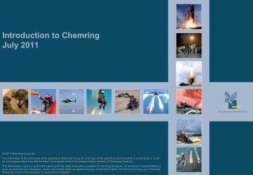 2011 - Chemring Group PLC