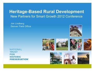 Heritage-Based Rural Development - New Partners for Smart ...