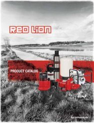 PRODUCT CATALOG - Red Lion