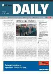 Embaxová očekávání - Svět tisku
