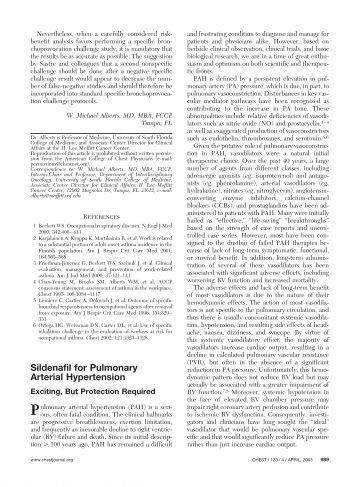 Viagra for pulmonary hypertension