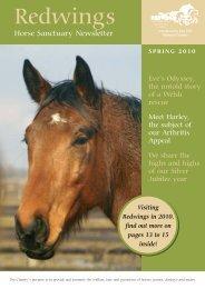 Spring Newsletter 2010 - Redwings