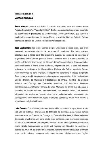 Mesa Redonda 04 - sigrh
