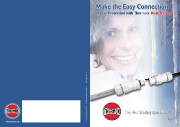 E-Connect Brochure - Thermon Manufacturing Company