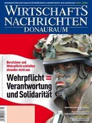 Ausgabe 12/2012 Wirtschaftsnachrichten Donauraum
