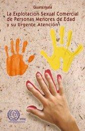 Guatemala: La explotación sexual comercial de personas menores ...