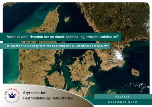 og arbejdstilladelse ud - Ny i Danmark