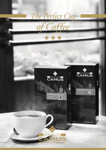 of Coffee - Maison Camus