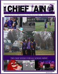 Chieftain Final Issue - Sewanhaka Central High School District
