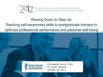 Slowing Down to Step Up: Teaching self-awareness skills to ...