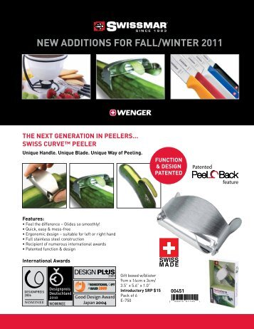 new additions for fall/winter 2011 - International Housewares ...