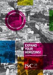 ISC Paris - International Brochure - Educouturier