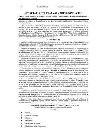 NOM-006-STPS-2000 - Normas Oficiales Mexicanas de Seguridad y ...