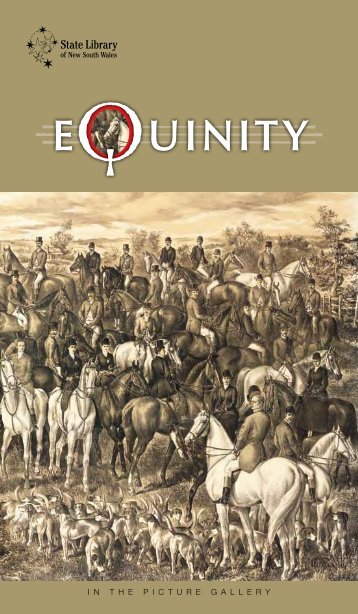 Equinity - Exhibition gallery guide - State Library of New South Wales