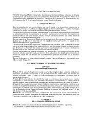 Reglamento Interior del Colegio de Educación Profesional Técnica ...