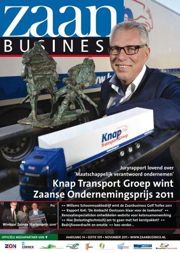 Knap Transport Groep wint Zaanse ... - Zaanbusiness