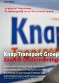 Knap Transport Groep wint Zaanse ... - Zaanbusiness - Page 6
