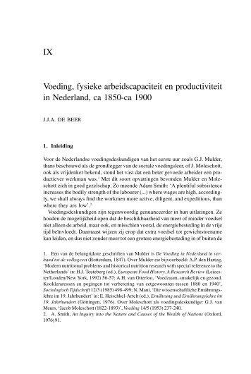 1998 De Beer.p65 - Nederlandsch Economisch-Historisch Archief
