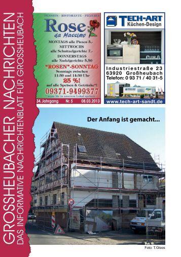 Großheubacher Nachrichten Ausgabe 05-2013 - STOPTEG Print ...
