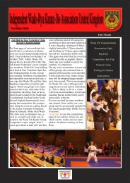 the November newsletter - Wado UK