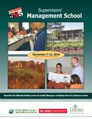 Supervisors' Management School - Oglebay Resort