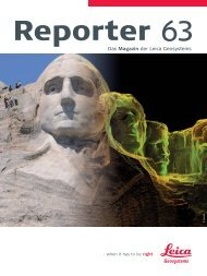 Reporter No. 63, September 2010, Deutsch (PDF 3.34 MB) - Leica ...