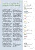 Les organisations de producteurs et les chaînes de ... - Capacity.org - Page 3