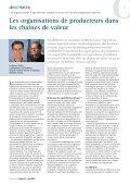 Les organisations de producteurs et les chaînes de ... - Capacity.org - Page 4