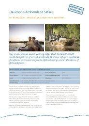 Davidson's Arnhemland Safaris - Tourism Australia