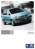 GETZ Technische Daten GETZ Ausstattungen - Auto Stahl - Page 2