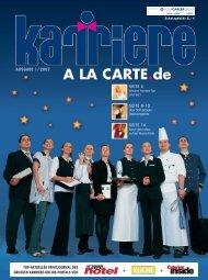 KARRIERE A LA CARTE - Hotelcareer