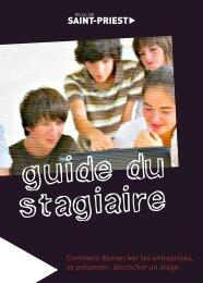 Guide du stagiaire - Saint-Priest