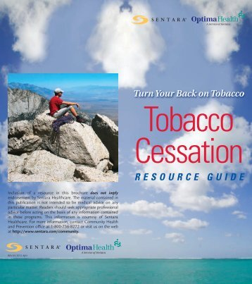 Smoking Cessation Guide - Optima Health