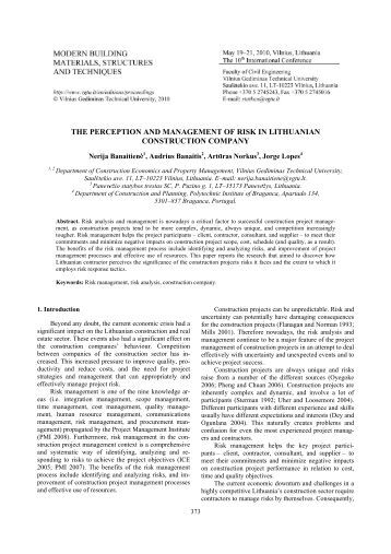 Personality Traits of Managers and Success of Firms: A Case of Lithuanian SMEs