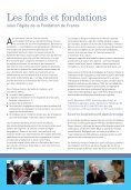 Les fonds et fondations en 2009 - Fondation de France - Page 3