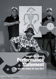 Performance Statement - Banyule City Council