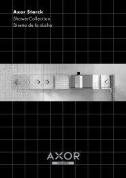 Axor Starck ShowerCollection, Planificación de duchas - Hansgrohe