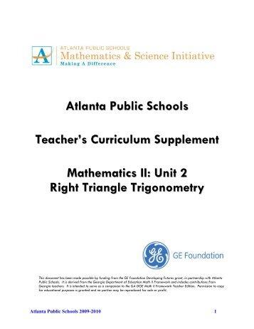 4 an isosceles triangle unit 2 teacher atlanta public schools fandeluxe Gallery