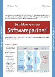 Zertifizierung unserer - WM Seminare
